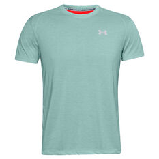 Under Armour Mens Streaker Tee Blue S, Blue, rebel_hi-res