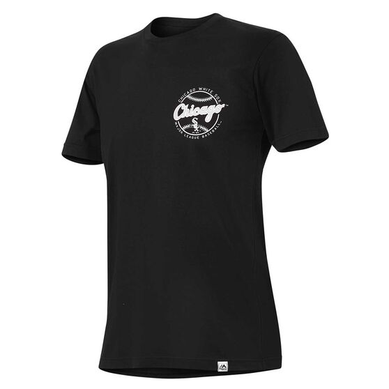 Chicago White Sox Mens Kardy Tee, Black, rebel_hi-res