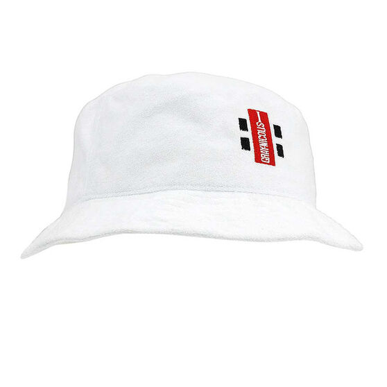 Gray Nicolls Towelling Hat, Off White, rebel_hi-res