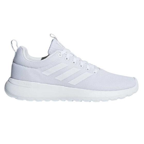 adidas Lite Racer CLN Womens Casual Shoes, White / White, rebel_hi-res