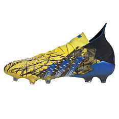adidas x Marvel X-Men Predator Freak .1 Football Boots Yellow US Mens 7 / Womens 8, Yellow, rebel_hi-res