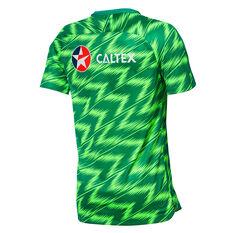 Socceroos 2019 Mens Training Tee Green S, Green, rebel_hi-res