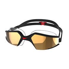 Speedo Aquapulse Max Mirrored Swim Goggles White / Silver, , rebel_hi-res