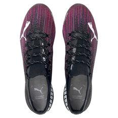 Puma Ultra 1.1 Football Boots, Black/Pink, rebel_hi-res
