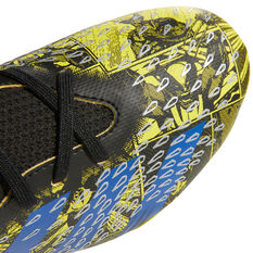 adidas x Marvel X-Men Predator Freak .3 Kids Football Boots, Yellow, rebel_hi-res