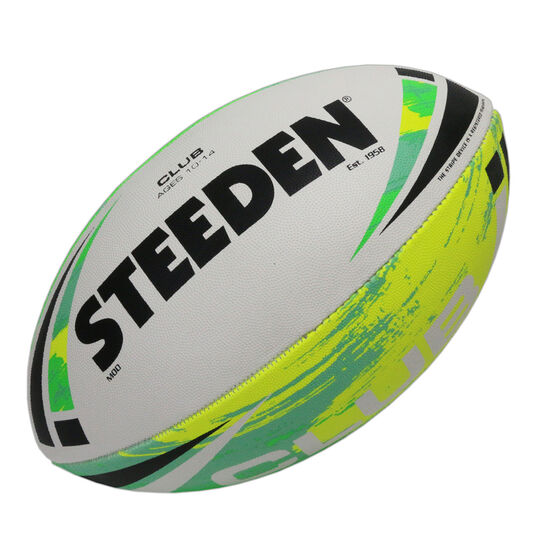 Steeden Club Rugbly League Ball, Multi, rebel_hi-res