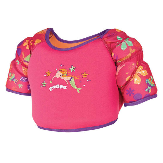 Zoggs Water Wing Vest Pink 2 - 3, , rebel_hi-res