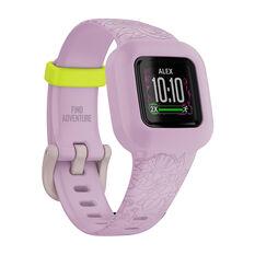 Garmin VivoFit JR3 Activity Tracker - Floral Pink, , rebel_hi-res