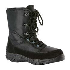 Elude Crunchin Boot Mens Ski Boots Black US 8, Black, rebel_hi-res