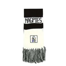 Collingwood Magpies Bar Scarf, , rebel_hi-res