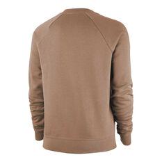 Nike Womens Sportswear Essentials Fleece Sweatshirt Desert XS, Desert, rebel_hi-res