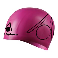 Aqua Sphere Tri Senior Swim Cap Magenta OSFA, , rebel_hi-res