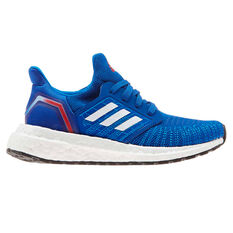 adidas Ultraboost 20 Kids Running Shoes Blue/Red US 11, Blue/Red, rebel_hi-res
