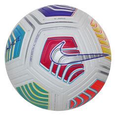 Nike Strike Soccer Ball White 4, White, rebel_hi-res