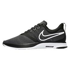 Nike Zoom Strike Womens Running Shoes Black / White US 6, Black / White, rebel_hi-res