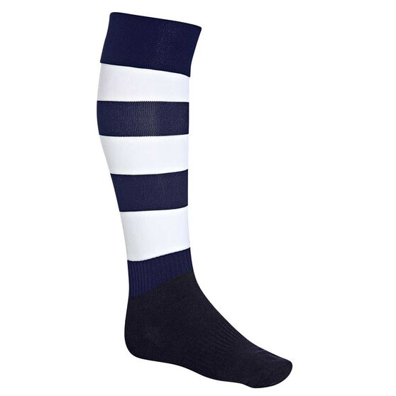 Burley Geelong Cats Football Socks, , rebel_hi-res