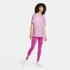 Nike Womens Icon Clash Sportswear Tee Pink S, Pink, rebel_hi-res