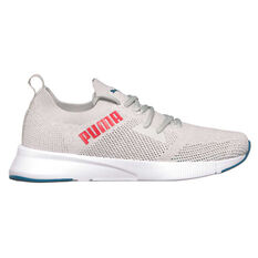 Puma Flyer Runner Engineered Knit Mens Running Shoes Purple/White US 7, , rebel_hi-res