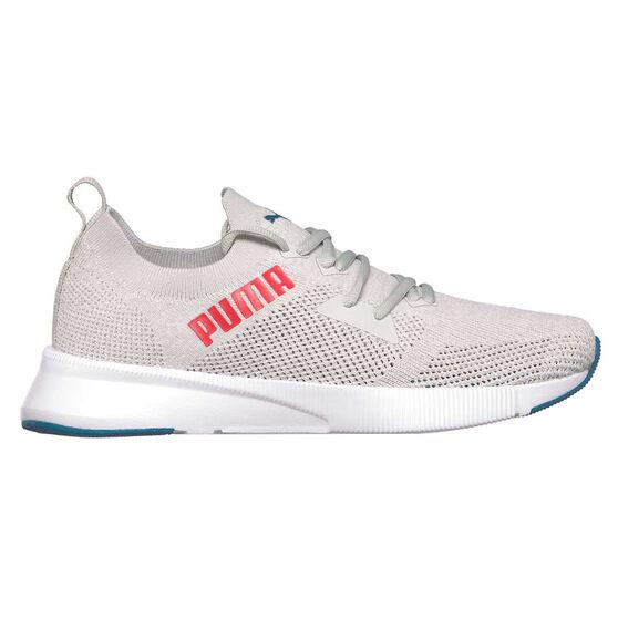 Puma Flyer Runner Engineered Knit Mens Running Shoes, Purple/White, rebel_hi-res