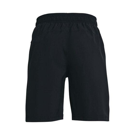 Under Armour Boys Woven Shorts, Black/Grey, rebel_hi-res