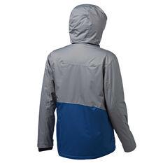 Tahwalhi Mens Dusty Ski Jacket Grey / Blue S, Grey / Blue, rebel_hi-res