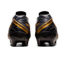 Asics Lethal Tigreor IT FF 2 Football Boots, Black/Gold, rebel_hi-res