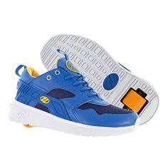 Heelys Force Boys Shoes Navy / Orange US 1, Navy / Orange, rebel_hi-res
