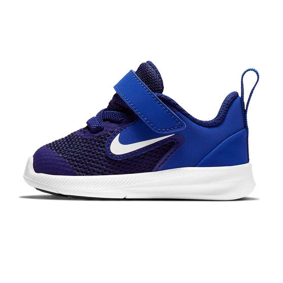 Nike Downshifter 9 Toddlers Shoes Blue / White US 4, Blue / White, rebel_hi-res