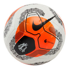 Nike Premier League Strike Soccer Ball White / Orange 3, White / Orange, rebel_hi-res