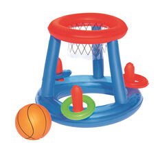 Verao Inflatable Pool Basketball, , rebel_hi-res