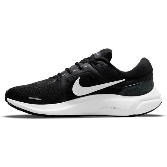 Nike Air Zoom Vomero 16 Mens Running Shoes, Black/White, rebel_hi-res