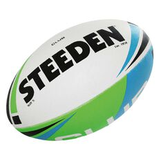 Steeden Club Rugby League Ball Multi 5, Multi, rebel_hi-res