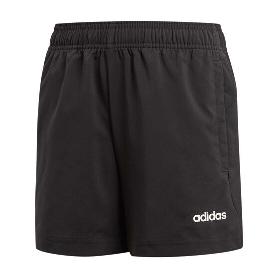 adidas Boys Essential Chelsea Shorts, Black / White, rebel_hi-res