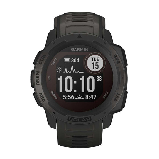Garmin Instinct Solar GPS Watch, , rebel_hi-res