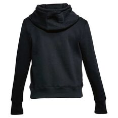 Under Armour Womens Big Logo Cotton Hoodie Black XS Adult, Black, rebel_hi-res