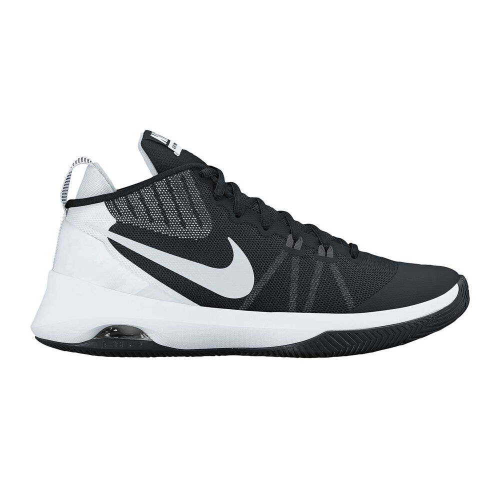 eff6f4f86438 Nike Air Versatile Mens Basketball Shoes Black   White US 10.5 ...