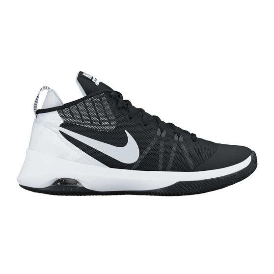 1b5e833be84 Nike Air Versatile Mens Basketball Shoes Black   White US 9