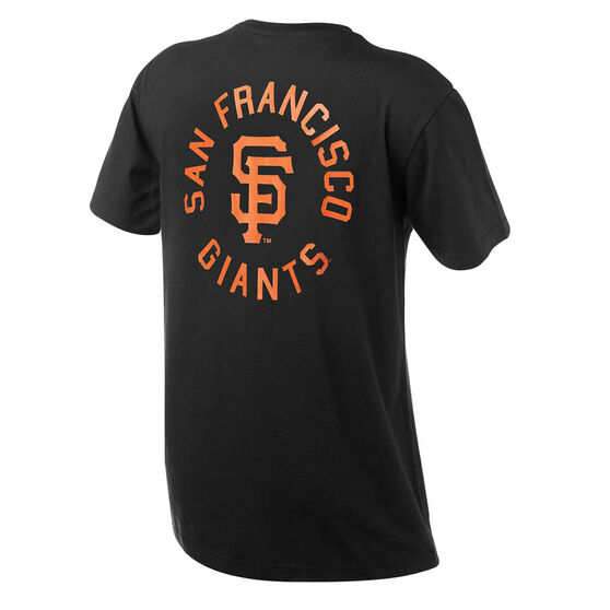 San Francisco Giants Mens Drimer Tee Black S, Black, rebel_hi-res