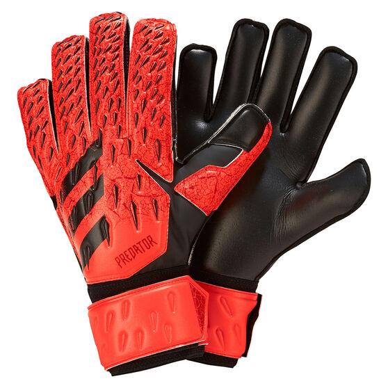 adidas Predator Match Goalkeeper Gloves, Red, rebel_hi-res