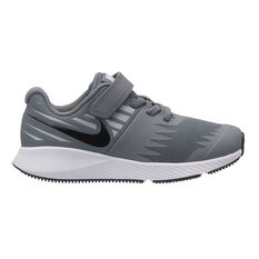 Nike Star Runner Junior Boys Running Shoes Grey / White US 11, Grey / White, rebel_hi-res