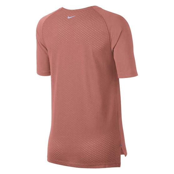 Nike Womens Tailwind Tee Pink XS, Pink, rebel_hi-res