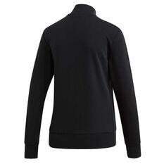 adidas Womens Essentials 3 Stripes Track Jacket, Black, rebel_hi-res