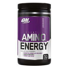 Optimim Nutrition Amino Energy Grape 30 Serves, , rebel_hi-res