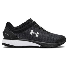 Under Armour Charged Escape 3 Womens Running Shoes Black / White US 6, , rebel_hi-res