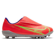 Nike Mercurial Vapor 14 Club Kids Football Boots Crimson US 8, Crimson, rebel_hi-res