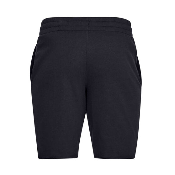 Under Armour Mens Sportstyle Terry Shorts, Black, rebel_hi-res