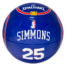 Spalding NBA Jersey Ben Simmons Mini Basketball, , rebel_hi-res