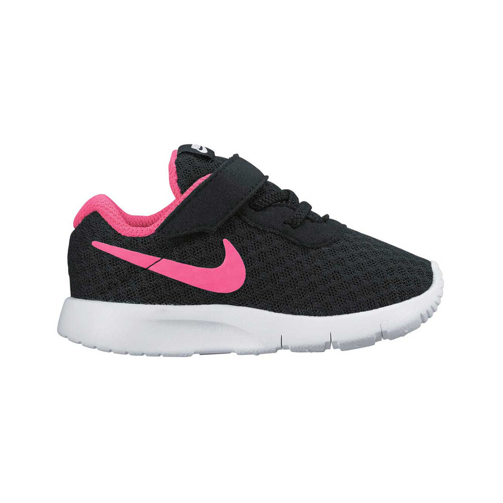 11bbdcef4f17e1 Nike Tanjun Toddlers Casual Shoes Black   Pink US 2