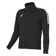 Umbro Teamwear Track Jacket Black / White XS YTH, Black / White, rebel_hi-res