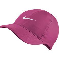 Nike Womens Aerobill Featherlite Cap Fuschia OSFA, Fuschia, rebel_hi-res